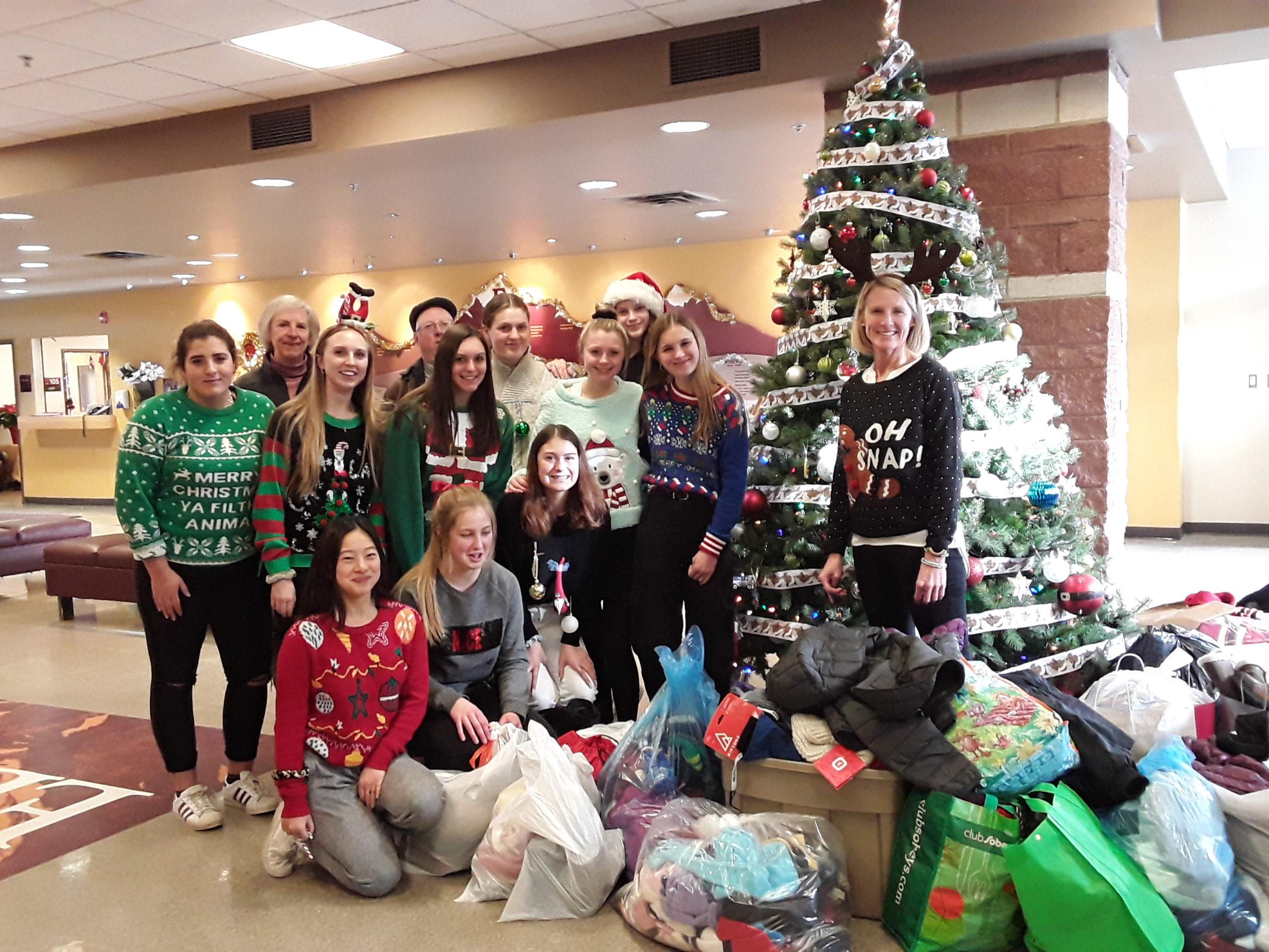 The Edge School Leadership Group -Holiday Haul